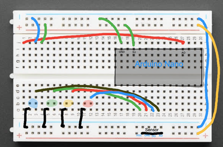 Placing the Arduino and Setting Up the Breadboard