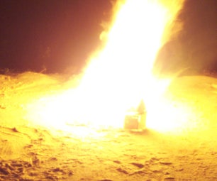Popsicle Stick House Arson