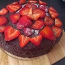 Chocolate And Strawberry Cake