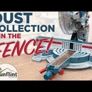 Miter Saw Dust Collection - New Custom Fence