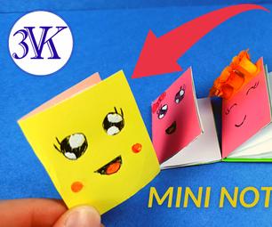 如何制作Origami Mini笔记本?