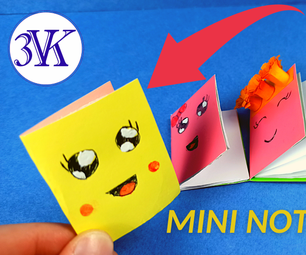 How to make origami mini notebook?