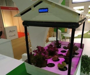 Modular Hydroponics Homekit With PH Monitor