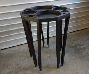 How to Build an Apollonian Gasket End Table