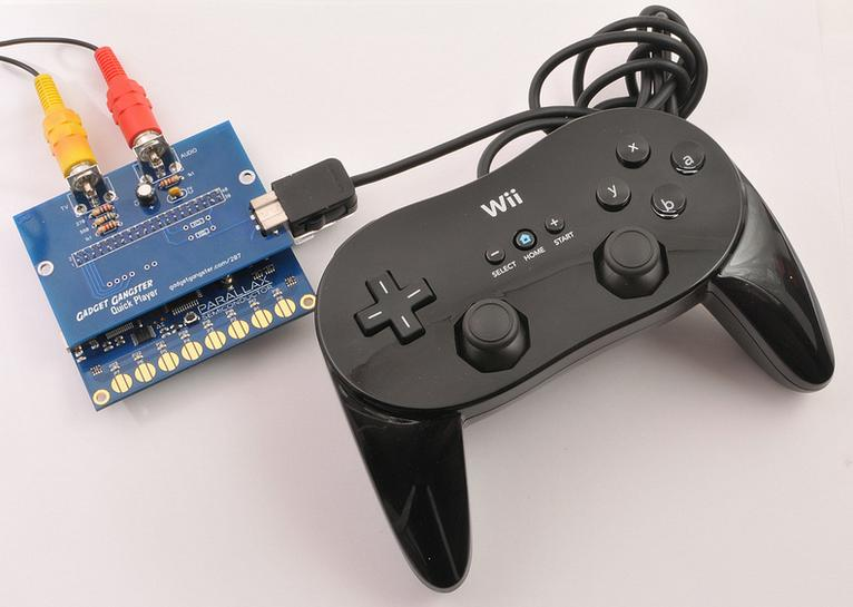 QuickPlayer: DIY pocket game console