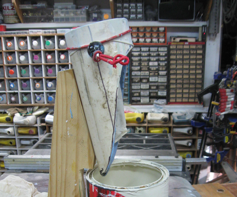 Paint Strainer Station