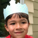 Paper Crown (Silhouette Portrait Cutter Project)