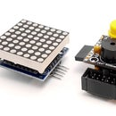 How to Interface a MAX7219 Driven LED Matrix 8x8 With ATtiny85 Microcontroller