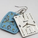 How to Make Simple Upcycled Watch Face Earrings