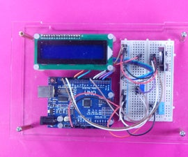 Arduino LCD Clock Thermometer Humidity Project