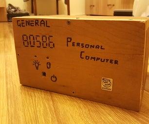 Tiny Wood Computer Case