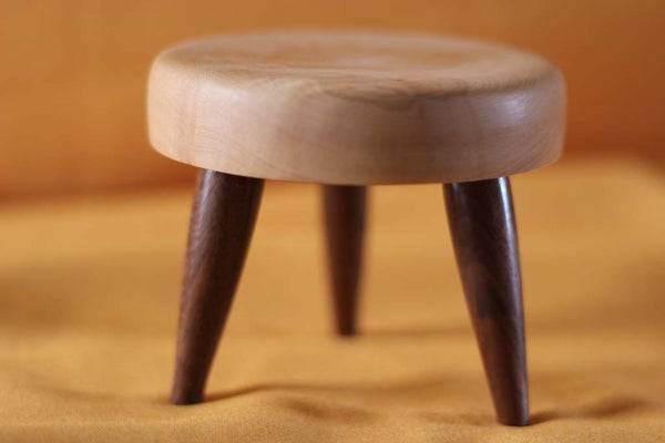 Miniature Candle Stool