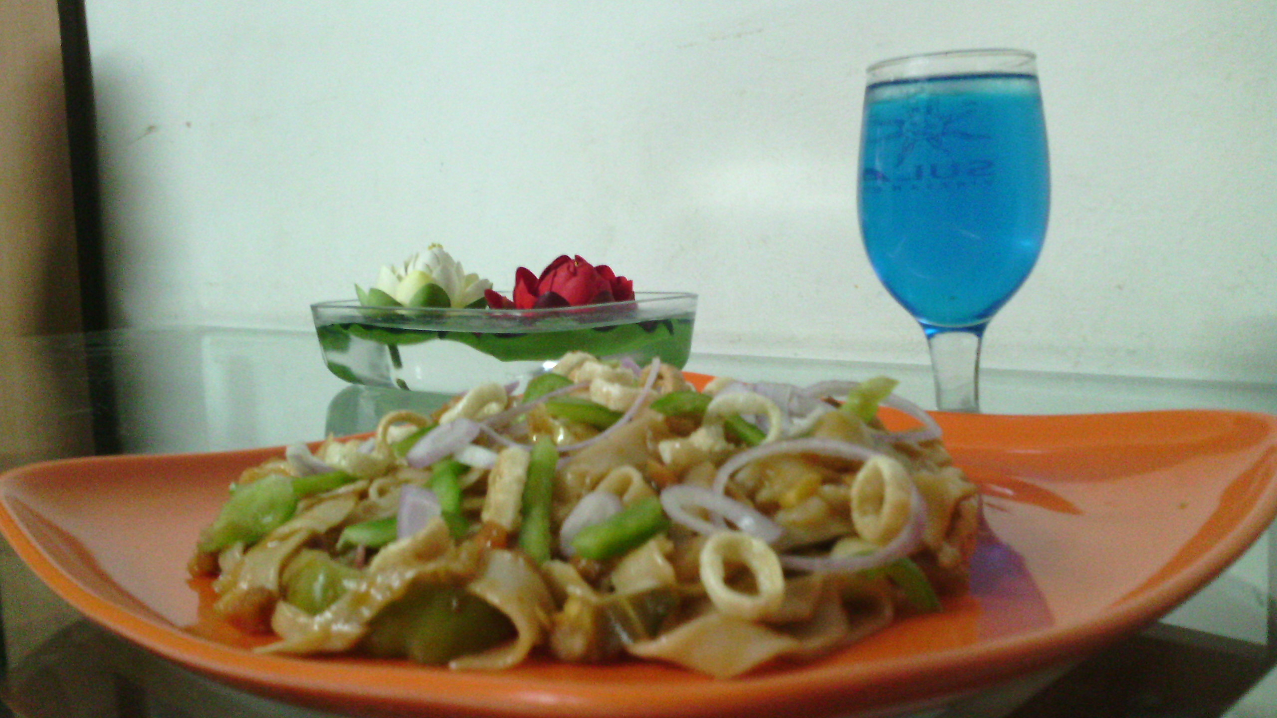 Cook Healthy Flat Italian Pasta the Chinese way :)