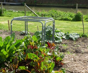 How to Make a Modular Vegetable Protection Cage.