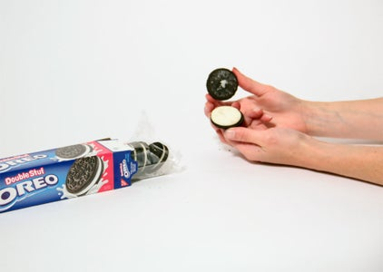 Extract the Cream Center From Oreo