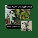 Hide Away Emergency Kit; Mountain Bike Application Included