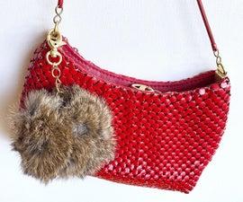 Upcycled Fur Pom Pom Bag Charm