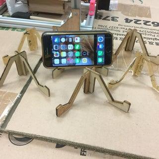 Laser Cut Smart Phone Stand