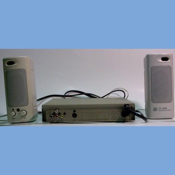 Reusing Computer Speakers