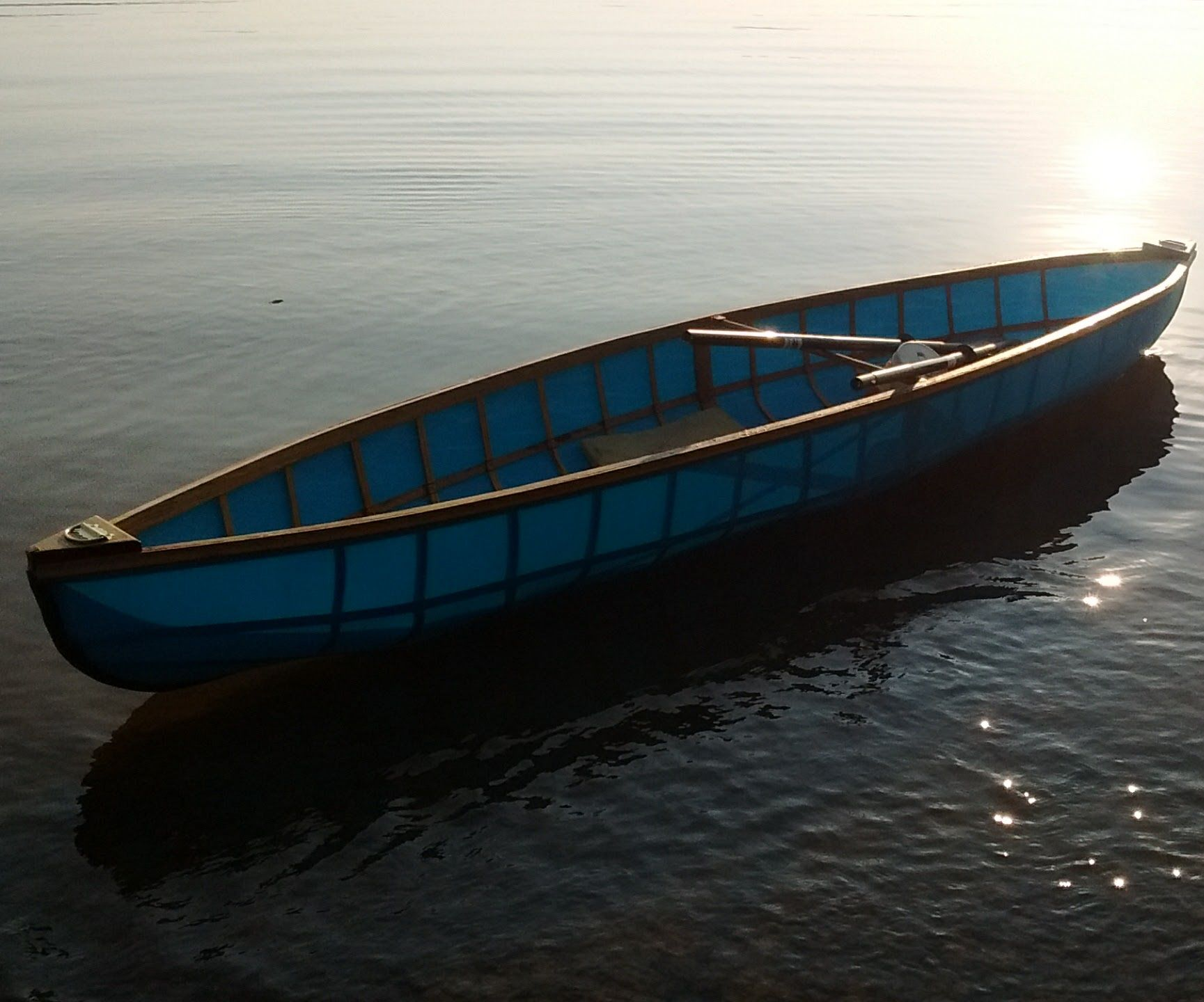 (In Writing Progress) Single Seat Skin on Frame Kayak/canoe