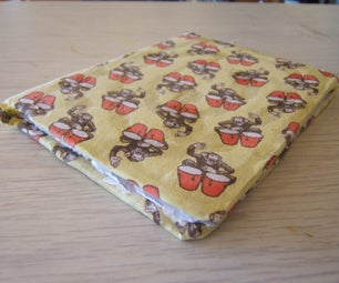 30-Minute Recycled-Paper Old-Underwear Notebook (Thing-A-Day: Day 20)