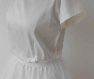 Silk Top / T-Shirt (sew Within One Hour)
