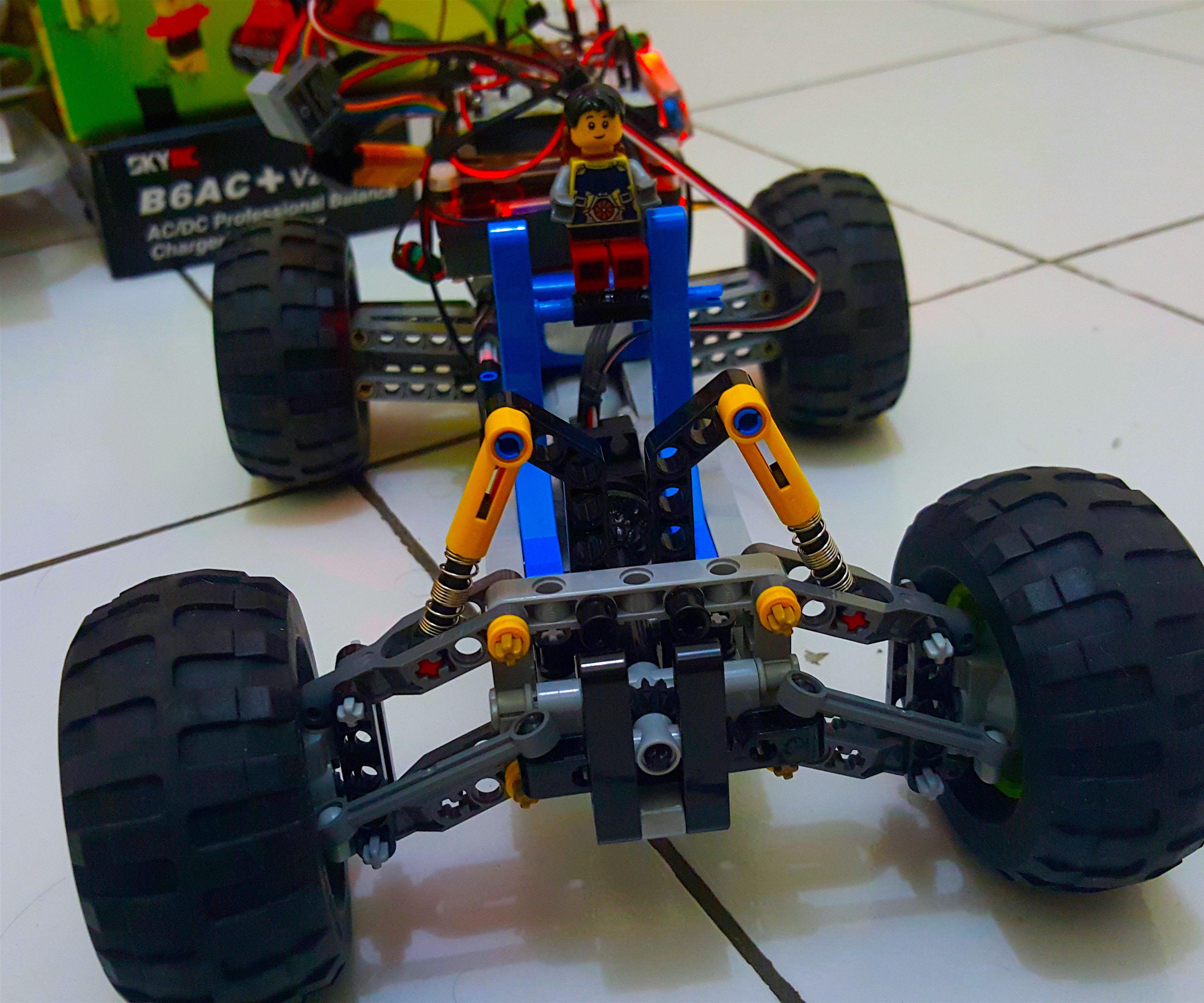 DIY - Control Off-road Lego Car Through Internet (IoT) - Part 2