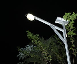 DIY Solar Powered Automatic Street Lighting