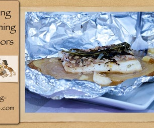 Grilling Fish in Aluminum Foil Packets