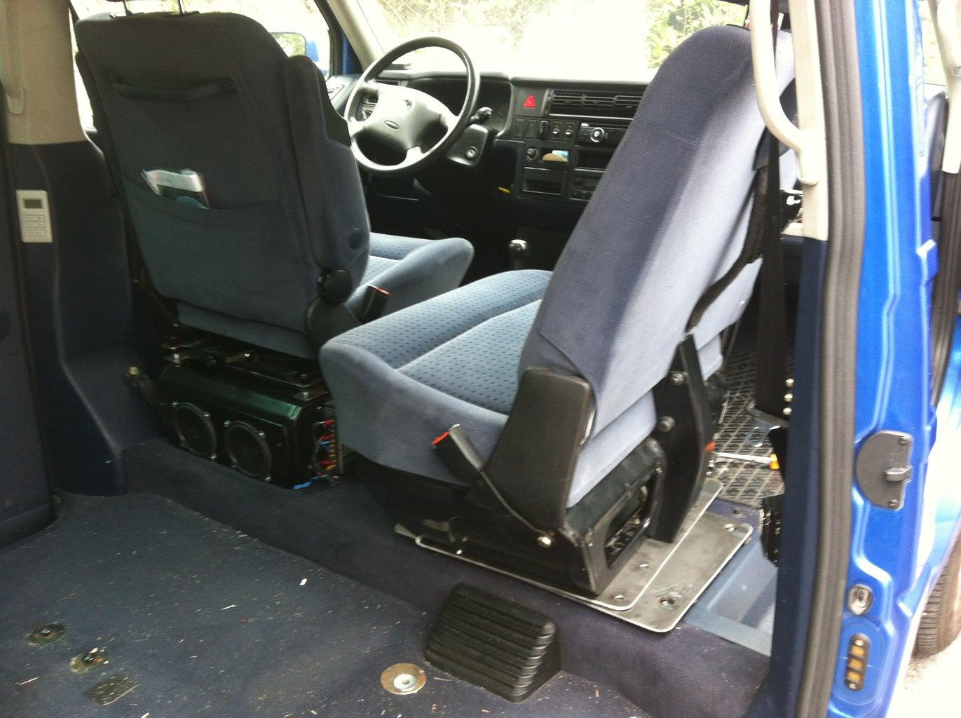 Make 2places Swivel Seat