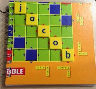 Kids Build - Board Game Note Book