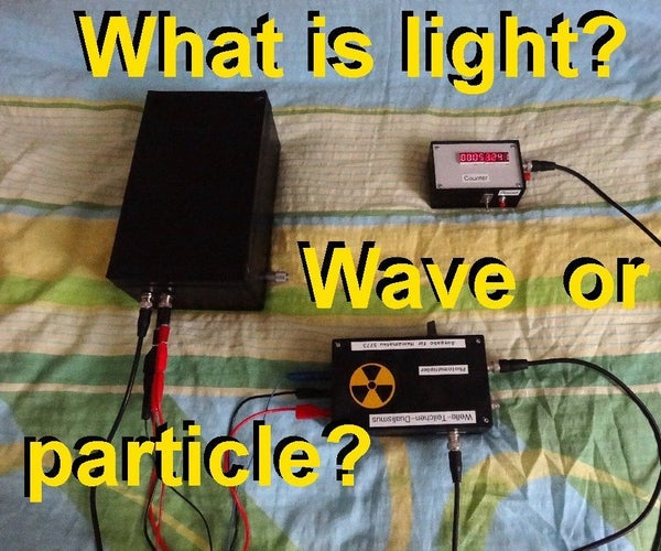 What Is Light? Wave or Particle? Examining the Wave-particle-dualism...