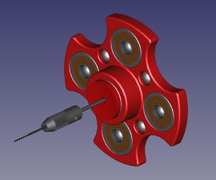 Drilling Addiction Fidget Spinner