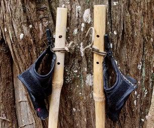 Bamboo Poles for Nordic Walking or Trekking