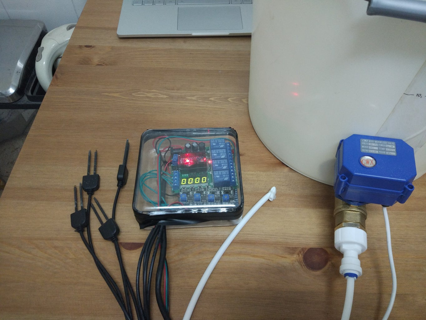 Automated Potted Plant Watering System
