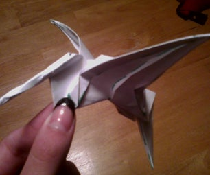 How to Fold a Flapping Hummingbird!