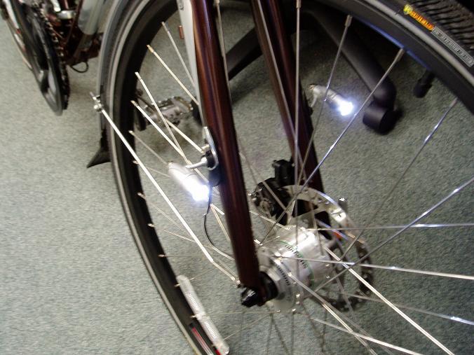$2 Adjustable Fork-mounted Supplementary Bike Lights