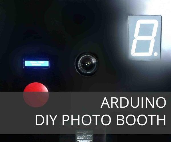 DIY Arduino Based PHOTO BOOTH