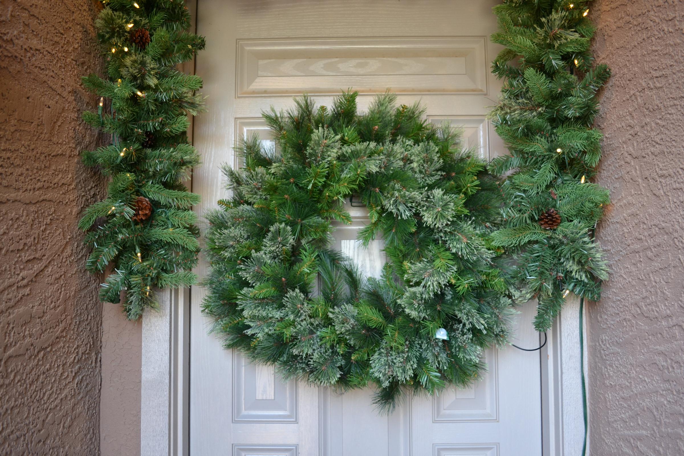 Christmas Greeting Wreath Arduino and MP3