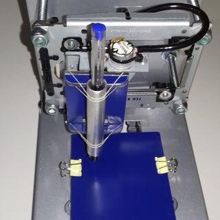 How to Make Mini CNC 2D Plotter Using Scrap DVD Drive, L293d Motor Shield & Arduino