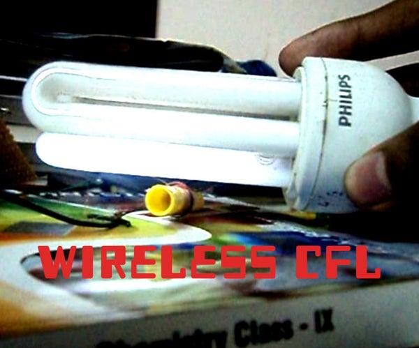 Wireless CFLs (using Wireless Electricity)