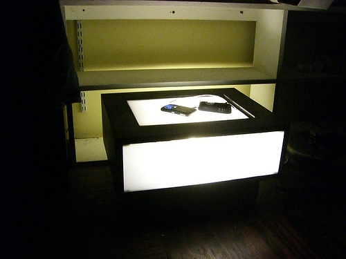 Night Stand Charging Station Lamp