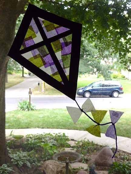 """Stained Glass"" Kite"