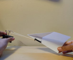 Easy Paper Plane Launcher