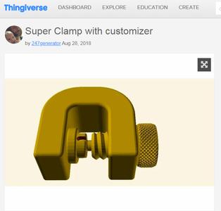 Thingiverse Model