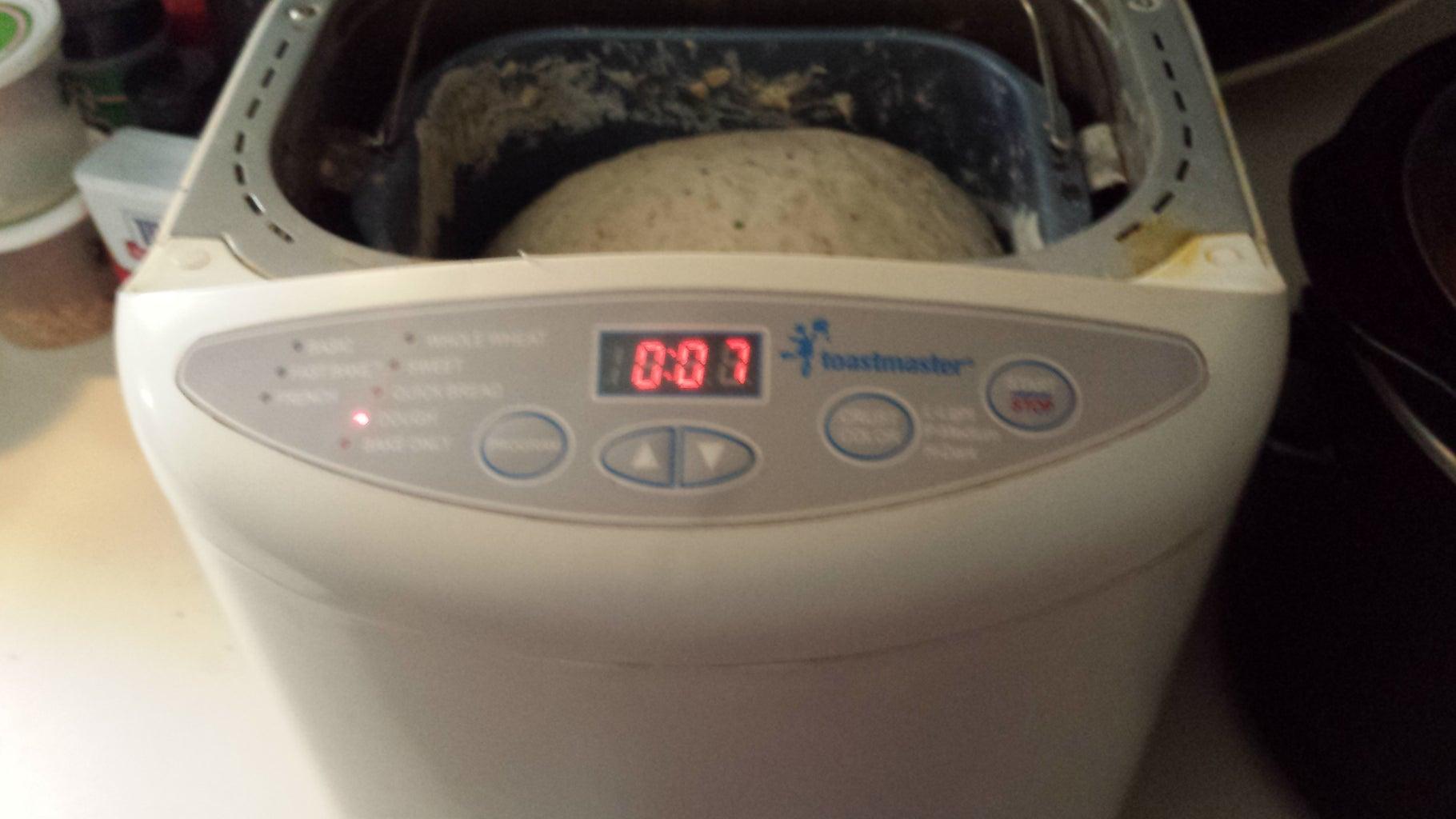 Homemade PIZZA DOUGH OF POWER:  Bubba Bread Recipe