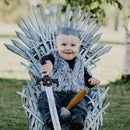 Baby-sized Iron Throne