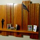 Military Family Tribute Shelf