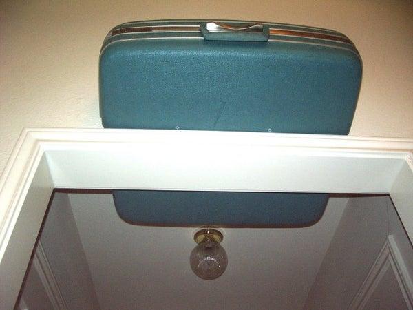 Double Suitcase Shelf