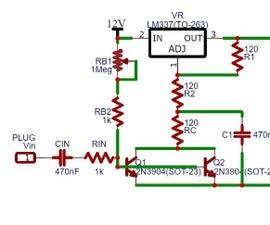 Voltage Regulator Sound Light
